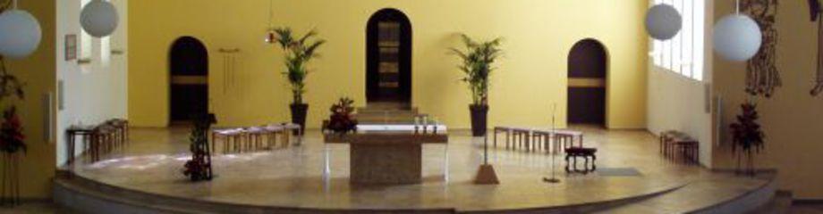 Altarraum Kirche